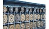 Паллетные стеллажи для хранения барабанов с проводом