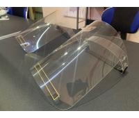 Защитная маска (экран) для кассира, продавца